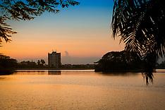 Inya Lake, Yangon, Myanmar