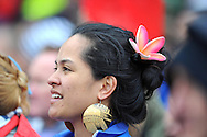 RUGBY - COUPE DU MONDE 2011 - 2011....25/09/2011..Auckland..FIDJI / SAMOA..Eden Park..Coupe du Monde Rugby 2011..Photo Alain MOUNIC