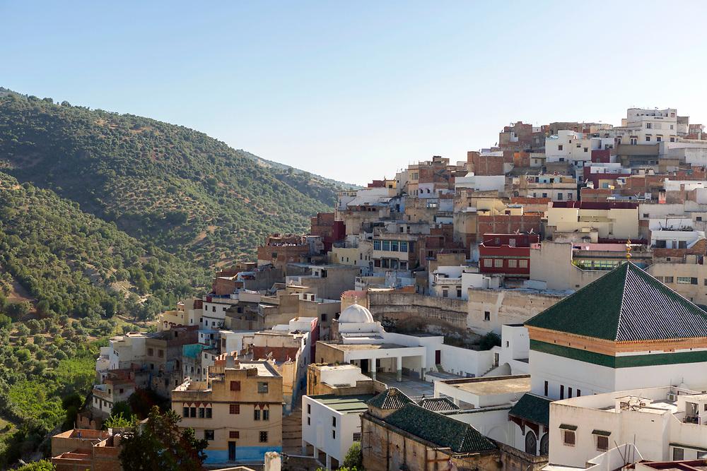 Scorpion House, Moulay Idriss Zerhoun, Middle Atlas, Morocco,