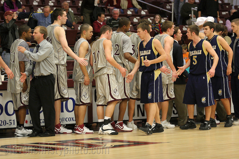 OC Men's Basketball vs Hillsdale Baptist College.November 13, 2006.79-56 win