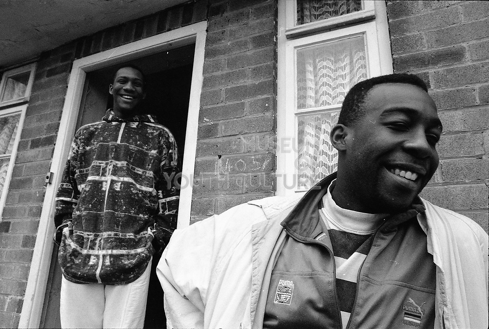 Two Black Guys, Micklefield, UK. 1990.