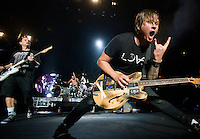 Blink-182 at Madison Square Garden.