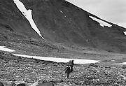 Sarek, nära gränsen mot Padjelanta