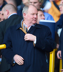 WOLVERHAMPTON, ENGLAND - Saturday, March 27, 2010: Wolverhampton Wanderers' chairman Steve Morgan during the Premiership match at Molineux. (Photo by David Rawcliffe/Propaganda)
