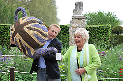 JONATHAN JONES and JUDITH CHALMERS at the 2012 RHS Chelsea Flower Show held at Royal Hospital Chelsea, London on 21st May 2012.