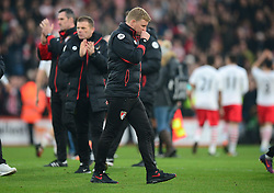 Bournemouth manager Eddie Howe walks towards the tunnel at full time. - Mandatory by-line: Alex James/JMP - 18/12/2016 - FOOTBALL - Vitality Stadium - Bournemouth, England - Bournemouth v Southampton - Premier League