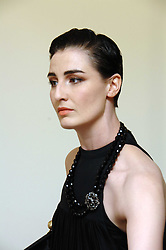 ERIN O'CONNOR at a party to celebrate the publication of Vivienne Westwood's Opus held at The Serpentine Gallery, Kensington Gardens, London W2 on 12th February 2008.<br />