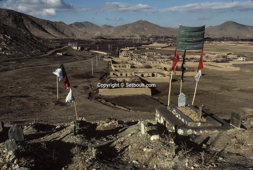 Afghanistan. Paghman cemetery  Kabul  Afghanistan  / Cimetière à Paghman  Kaboul  Afghanistan   /     L0007436  /  R00021  /  P111242