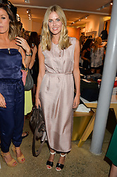 DONNA AIR at a party to celebrate the paperback lauch of The Stylist by Rosie Nixon hosted by Donna Ida at her store at 106 Draycott Avenue, London on 17th August 2016.