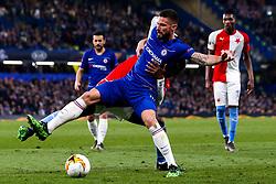 Olivier Giroud of Chelsea - Mandatory by-line: Robbie Stephenson/JMP - 18/04/2019 - FOOTBALL - Stamford Bridge - London, England - Chelsea v Slavia Prague - UEFA Europa League Quarter Final 2nd Leg