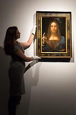 2017-11-16 Da Vinci's Salvatore Mundi sells for $450 million