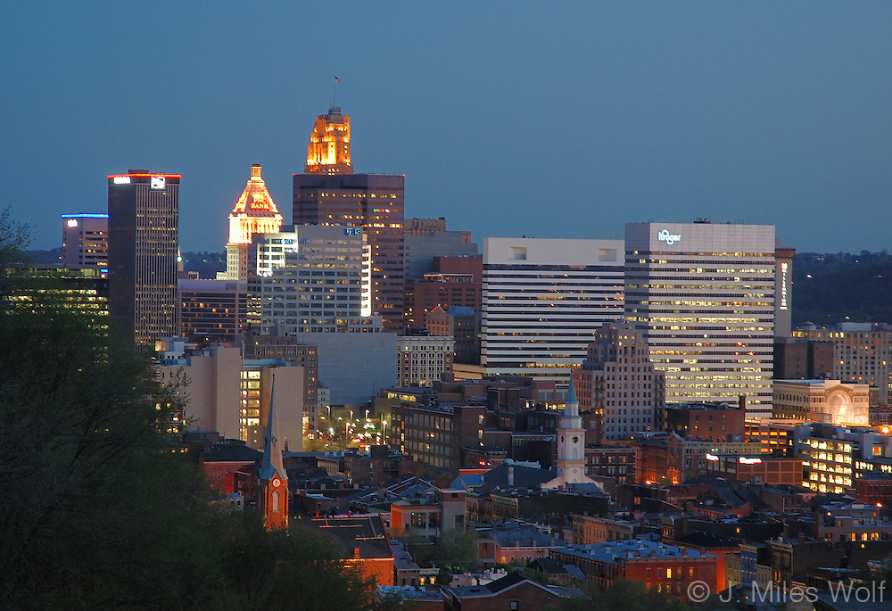 Downtown Cincinnati Skyline