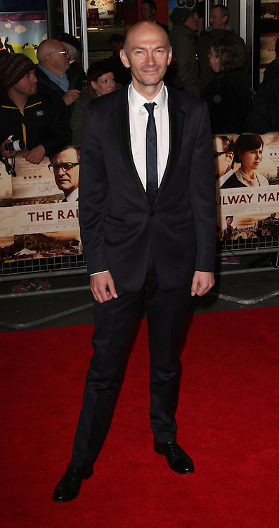 JONATHAN TEPLITSZY attends the UK Premiere of 'The Railway Man' at Odeon West End ,London, United Kingdom. Wednesday, 4th December 2013. Picture by i-Images