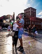 Tourists in Rome.<br /> Turisti a Roma