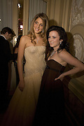 COMTESSE ANNA DE PAHLEN AND KATHLEEN KENNEDY, Crillon Debutante Ball 2007,  Crillon Hotel Paris. 24 November 2007. -DO NOT ARCHIVE-© Copyright Photograph by Dafydd Jones. 248 Clapham Rd. London SW9 0PZ. Tel 0207 820 0771. www.dafjones.com.