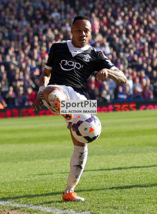 Nathaniel Clyne shows off some ball skills  Crystal Palace v Southampton Premiership  Premiership 8/3/2014 (c) Steve Ball|/Sportpix.org.uk(c) Steve Ball| SportPix.org.uk