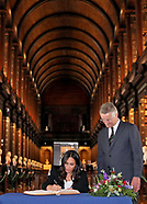 Meghan Markle & Prince Harry Visit Trinity College 2