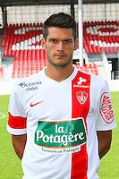 Johann RAMARE - 08.09.2014 - Photo officielle Brest - Ligue 2 2014/2015<br /> Photo : Maxime Kerriou / Icon Sport