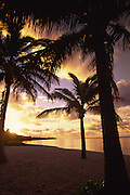 Sunrise, Rarotonga, Cook Islands<br />