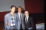 Scudetti 1987. Le premiazioni a Milano<br /> dan peterson, aldo corno