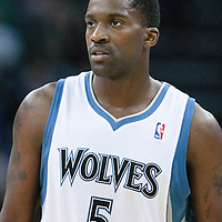 04 October 2010: Minnesota Timberwolves forward Martell Webster #5 is seen during the Minnesota Timberwolves 111-92 victory over the Los Angeles Lakers, during 2010 NBA Europe Live, at the O2 Arena in London, England.