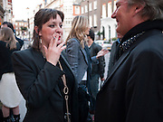 ANNA MAGNOWSKA; JAMES BIRCH, Polly Morgan book launch. Still Birth published by Other Criteria. London. 8 April 2010