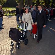 Doop Claus-Casimir Apeldoorn, Prins Bernhard Jr., prinses Annette Sekrève, dochter Isabella en zoon Samuel