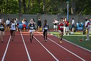 Event 1 -- Women's 100m