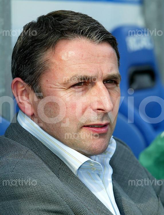 Fussball 1. Bundesliga Saison 2003/2004  Sportdirektor Klaus ALLOFS, Portrait SV Werder Bremen