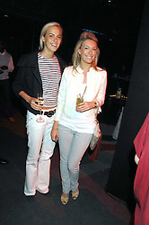 Left to right, LADY LOUISA COMPTON and OLIVIA BUCKINGHAM at a party to celebrate the launch of the new Fiat Bravo held at The Roundhouse Theatre, Chalk Farm Road, London on 13th June 2007.<br /><br />NON EXCLUSIVE - WORLD RIGHTS