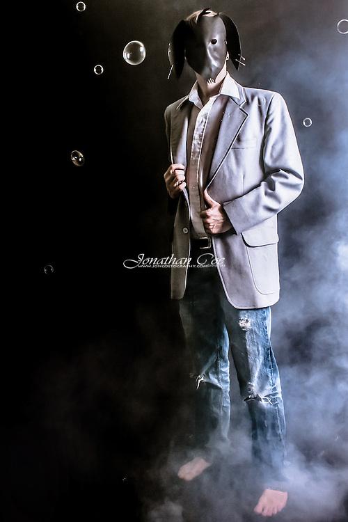Model: Jonathan Coe<br /> Self Portrait