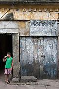 Street Life on Peer Saibo Street, off Dam Street, Colombo. near Hultsdorf.
