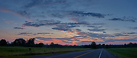 Dawn Clouds. Composite of three images taken with a Leica CL camera and 23 mm f/2 lens (ISO 100, 23 mm, f/2.8, 1/160 sec).
