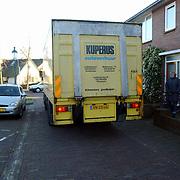 Moord Wendela van der Poel - Hagedoorn Huizen, opgraven lijk, speurhonden KLPD en vrachtwagen met lichaam