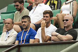 May 29, 2017 - Paris, Frankreich - Paris, 29.05.2017, Tennis - French Open 2017, Andre Agassi (ganz Rechts) (Credit Image: © Pascal Muller/EQ Images via ZUMA Press)