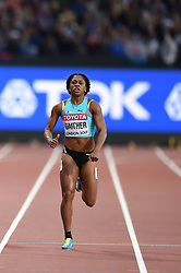 August 8, 2017 - London, England, United Kingdom - Tynia GAITHER, Bahamas,  during 200 meter  heats in London at the 2017 IAAF World Championships athletics on August 8, 2017  (Credit Image: © Ulrik Pedersen/NurPhoto via ZUMA Press)