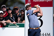 Cameron Smith (AUS) on the third tee at Day 1 of The Emirates Australian Open Golf at The Lakes Golf Club in Sydney, Australia.