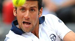 27-04-2010 TENNIS: ATP MASTERS: ROME<br /> Novak Djokovic (SRB)<br /> ©2010- FRH nph / A. Baldassarre