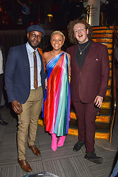 Gemma Cairney and guests at the Costa Book of The Year Award held at  Quaglino's, 16 Bury Street, London, England. 29 January 2019. <br /> <br /> ***For fees please contact us prior to publication***