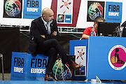 DESCRIZIONE : Riga Latvia Lettonia Eurobasket Women 2009 Semifinal 5th-8th Place Italia Lettonia Italy Latvia<br /> GIOCATORE : Giampiero Ticchi<br /> SQUADRA : Italia Italy<br /> EVENTO : Eurobasket Women 2009 Campionati Europei Donne 2009 <br /> GARA : Italia Lettonia Italy Latvia<br /> DATA : 19/06/2009 <br /> CATEGORIA : ritratto delusione<br /> SPORT : Pallacanestro <br /> AUTORE : Agenzia Ciamillo-Castoria/E.Castoria