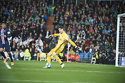 November 26, 2019, Madrid, Madrid, Spain: Thibaut Courtois (goalkeeper; Real Madrid) in action during the UEFA Champions League match between Real Madrid and Paris Saint-Germain at Santiago Bernabeu Stadium on November 26, 2019 in Madrid, Spain (Credit Image: © Jack Abuin/ZUMA Wire)
