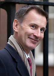 © Licensed to London News Pictures. 06/11/2018. London, UK. Foreign and Commonwealth Secretary Jeremy Hunt arriving in Downing Street to attend a Cabinet meeting this morning. Photo credit : Tom Nicholson/LNP