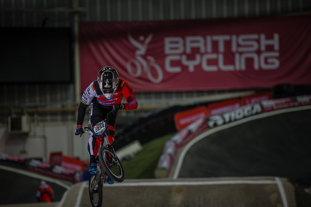 #994 (SCHMIDT Julian) GER at the 2016 UCI BMX Supercross World Cup in Manchester, United Kingdom<br /> <br /> A high res version of this image can be purchased for editorial, advertising and social media use on CraigDutton.com<br /> <br /> http://www.craigdutton.com/library/index.php?module=media&pId=100&category=gallery/cycling/bmx/SXWC_Manchester_2016