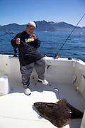 Sam Choy, Fishing,Halibut, Sitka, Southeast, Alaska