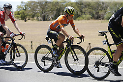 January 18, 2018 - Glenelg, AUSTRALIA - Australian Caleb Ewan of Orica Scott, Leader of the General Classification, pictured at stage 3 of the Tour Down Under cycling race, 120,5km from Glenelg to Victor Harbor, Thursday 18 January 2018 in Australia. The stage is shortened because of the extreme temperatures that are expected in Western Australia on Thursday. This years edition of the race is taking place from January 16th to January 21st...BELGA PHOTO YUZURU SUNADA. (Credit Image: © Yuzuru Sunada/Belga via ZUMA Press)