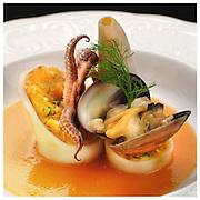 Le Ricette Tradizionali della Cucina Italiana.Italian Cooking Recipes. Calamari Ripieni