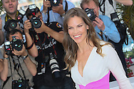 "CANNES, FRANCE - MAY 18:  Hilary Swank attends ""The Homesman"" photocall at the 67th Annual Cannes Film Festival on May 18, 2014 in Cannes, France.  (Photo by Tony Barson/FilmMagic)"