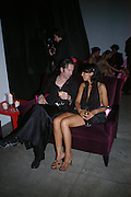 Luc Besnier and Fatiha Besnier. Karl Largerfeld hosts the launche of Dom Perignon Vintage 1998. Skylight Studios. 275 Hudson St. New York. 2 June 2005. ONE TIME USE ONLY - DO NOT ARCHIVE  © Copyright Photograph by Dafydd Jones 66 Stockwell Park Rd. London SW9 0DA Tel 020 7733 0108 www.dafjones.com