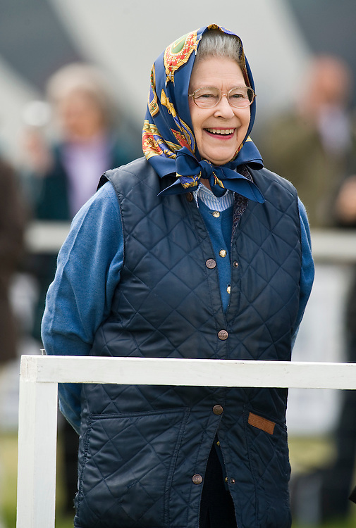 Windsor May 15 HM The Queen attends the Royal Windsor Horse show 2009. Her pony Balmoral Morland won the Highland class during the morning..© Marco Secchi/xianpix.com.Tel 0845 0506211  - 0773 415 6875.