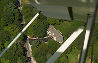 "Aerial view in the ""neighborhood"""